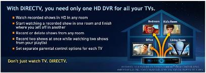 direct tv installers can provide custom installation for homes and busineses