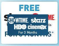 free HBO, Starz and Showtime with new directv installation los angeles