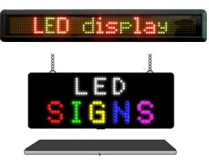 mixed color led sings for indoor and outdoor